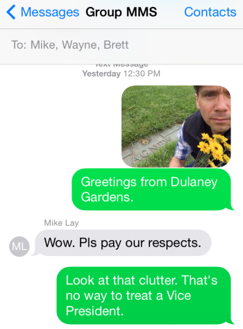 dulaney gardens text